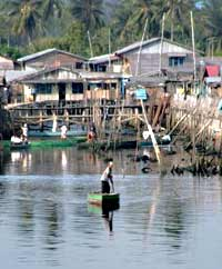 Fishing village in Batam. photos by Kent E. St John.