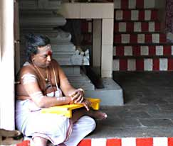 Monk in Batam.
