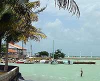 Corozal Town, the last stop before the Mexico border sits on the bay with inviting waterfront areas protected against large scale development.