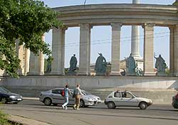 Heroe's Square, Budapest.