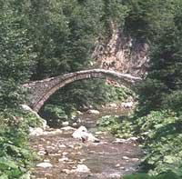 A Bulgarian mountain stream - photo courtesy of Travel-Bulgaria.com