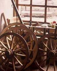 Part of a Karutza – a type of cart that used to be pulled by donkeys and horses - photo courtesy of Travel-Bulgaria.com