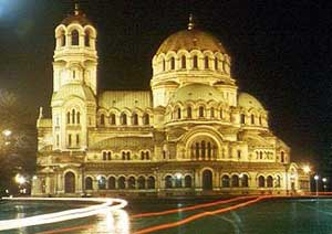 Alexandar Nevski Cathedral in Sofia, the largest orthodox church in Bulgaria - photo courtesy of Travel-Bulgaria.com