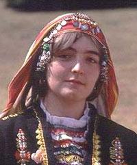 Bulgarian national costume - photo courtesy of Travel-Bulgaria.com