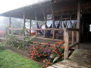 The Santa Lucia Eco-Lodge - pnoto courtesy of Santa Lucia Cooperative