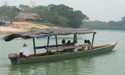 Afloat on the Rio Dulce