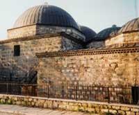 The old Daul Pasha Turkish Bathhouse