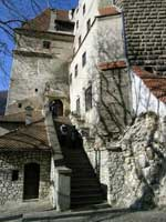 Bran Castle located less than an hour from Brasov is more well known as Dracula's Castle.