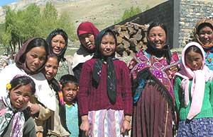 Villagers in Kungri