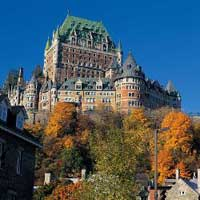 Fairmont Le Chateau Frontenac - photo courtesy of maxximvacations.com