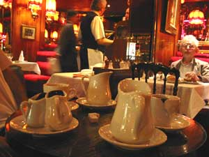 The author's favorite café, La Rotonde