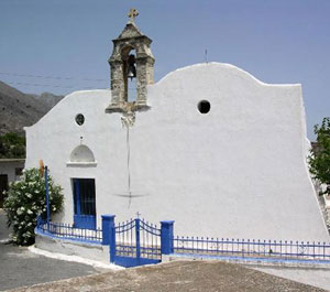 A unique church on the Lybian Sea