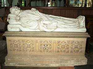 Memorial to Robert Southey, a Keswick native and author of 'Goldilocks and the Three Bears' in St. Kentigern's Church - photo courtesy of VisitCumbria.com