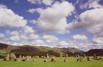Castlerigg stone circle, near Keswick - photo by David Kelavey