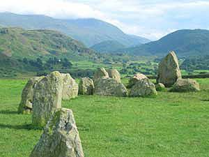 View from Castlerigg Stone Circle - photo by Brett Hughes