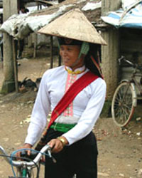 A White Thai woman