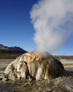 The geysers of El Tatio, near San Pedro de Atacama. photo by Paul Shoul.