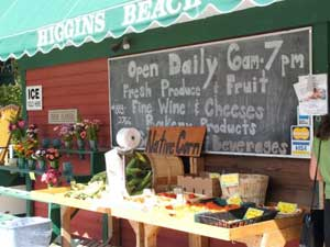 Higgin's Beach Shop - photo by Kent St. John