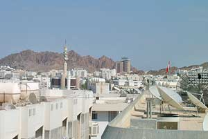 The Oman business district