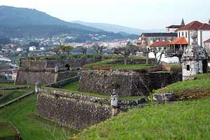 Valenca do Minho allows visitors to stay, eat and shop in a walled fortress with a commanding view of Spain.