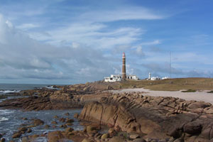 The lighthouse at Capo Polonia