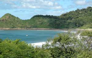 The eco-lodge Morgan's Rock sits above a totally secluded bay on Nicaragua's Pacific coast.