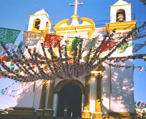 Church in San Cristobal - photo by Richard Arghiris