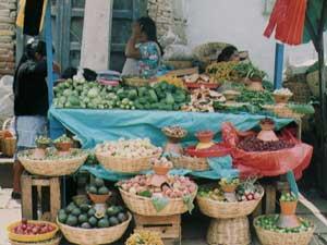 The market in San Cristobal - photo by Zoran Popovic