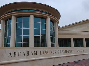 The Abraham Lincoln Presidential Museum in Springfield IL- photo courtesy of aia.org