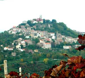 A Motovun hilltop village - photos by Kent E. St. John