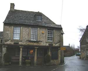 The Bear Inn pub has 17th century columns, a Tudor tunnel in the well, and quoins said to be from nearby Roman ruins.