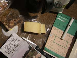 Be sure to bring a maRainy day walk supplies include a map in a Ziplock bag and hunk of cheese produced at local dairy.