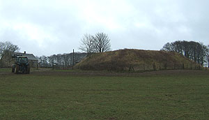 Tumps like this one have always been considered burial mounds, but they may also have been boundary markers.