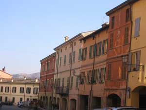 Buildings along the streets of Brisighella