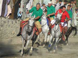 A polo match in Gilgit