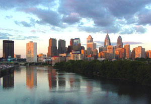 Philadelphia skyline - photos by Jennifer Kim