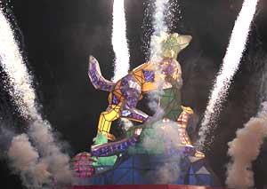The Lantern Festival at Tainan
