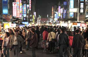 The Liohe night market
