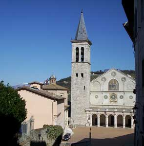 The Church of the Virgin Mary in Spoleto