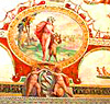 A Roman fresco