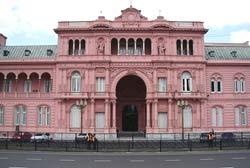 La Rosada in Buenos Aires.