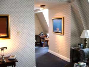 Artist's suite in the Manoir Richlieu