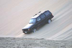 Hitting the dunes