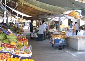 The vegetable souq