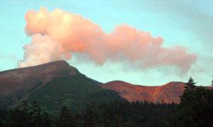 An active volcano in Daisetsuzan National Park - photos by Sam Baldwin