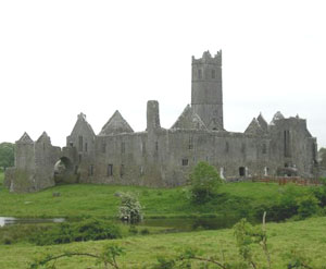 The abbey at Quin