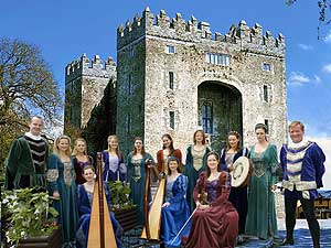 The entertainers of Bunratty Castle - photo courtesy of Shannon Heritage