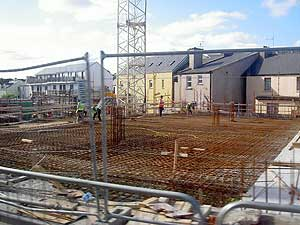A strong economy with full employment has fueled a building boom all over Ireland.