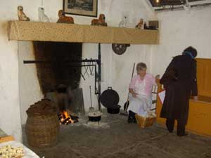 A cottage at Bunratty Folk Park