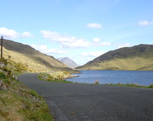 Lough Fee with Devil's Mother in the background